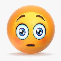 3D emoji v008 model