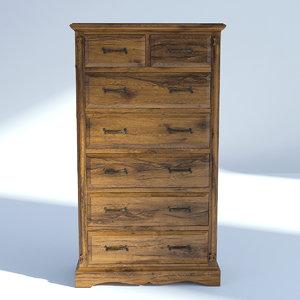 victorian drawer model