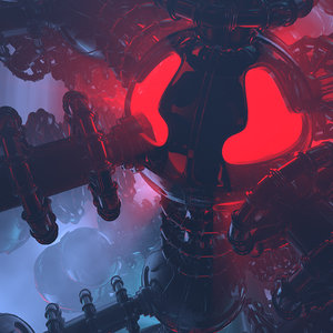 3D model concepts strange majestic reactor