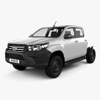 3D model toyota hilux double