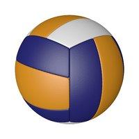 volleyball ball octane materials 3D model