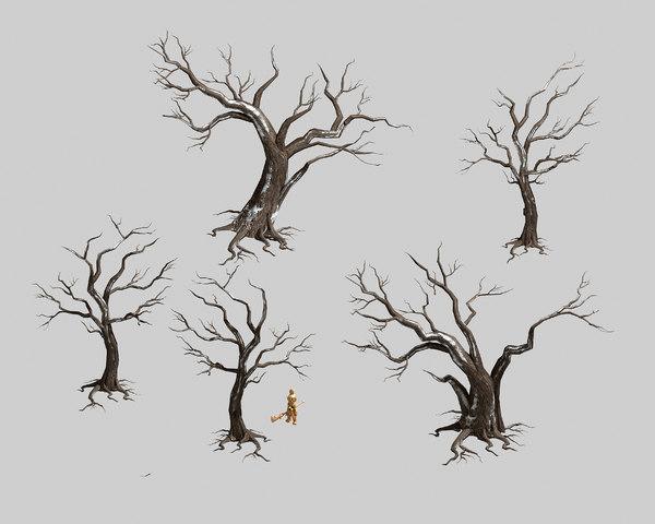 dry trunk 65 3D model