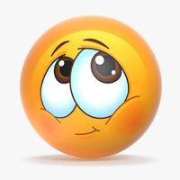 3D model emoji v007