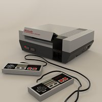 Nintendo Entertainment System (NES) Games Console