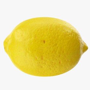 3D lemon 02