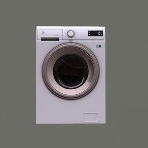 3D model washer electrolux