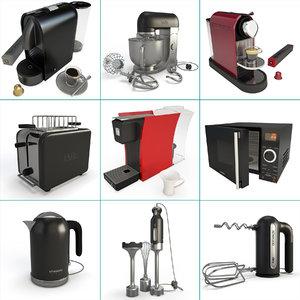 small appliance kitchen 01 3D