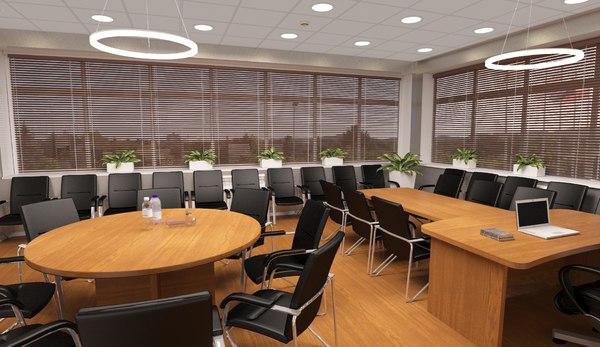 director office 3D model