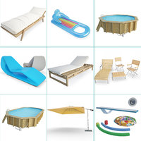 Swimming Pool and Accessories Set 01