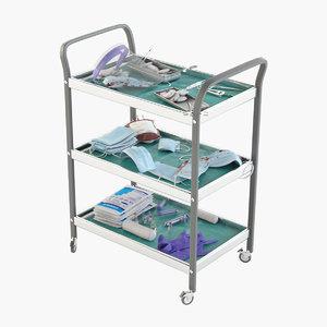 3D medical trolley