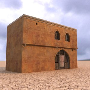 arabian house 3D
