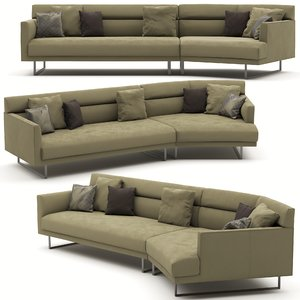 camerich amor sofa 3D