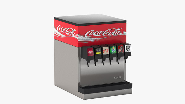 6-flavor counter electric soda 3D