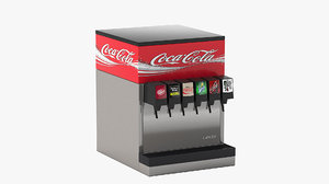 6-flavor counter electric soda 3D
