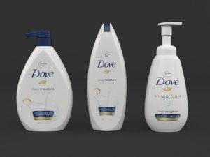 dove body wash model