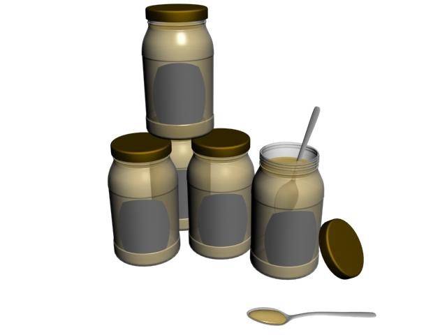 honey bottle 3D