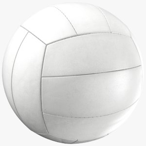 generic volleyball 3D model