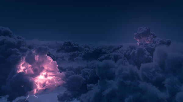 3D photorealistic cloud model