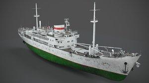 3D model old vessel