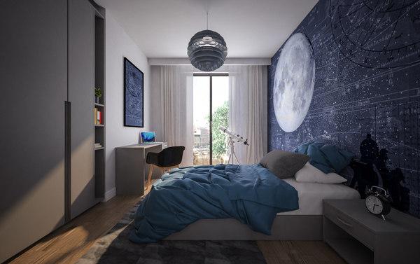 child room 3D model