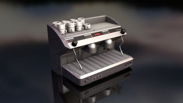 3D espresso coffee machine