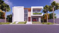 3D house Ground + 1st Floor
