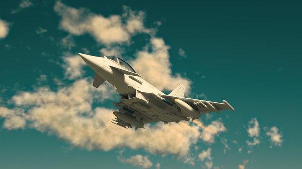 3D eurofighter ef-2000 typhoon