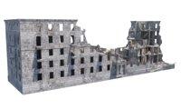 Ruins of building in Stalingrad