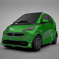 smart daimler green l311 3D
