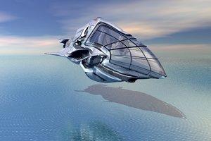3D spaceship cycle