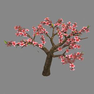 trees - peach 24 3D