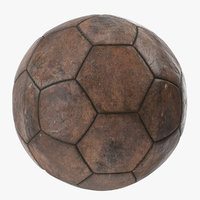 old brown ball model