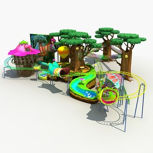 3D amusement park 28