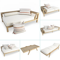 Synthesis Wooden Outdoor Furniture Set