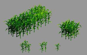 western suburbs - maize 3D model
