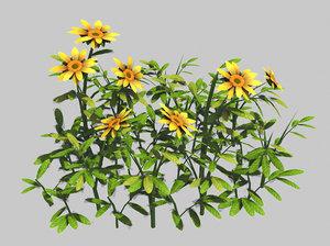 small plants - shanhua 3D model
