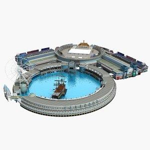 3D amusement park 29