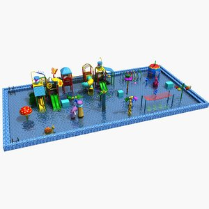 3D model amusement park 30