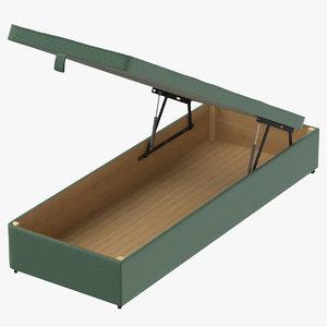 bed base 02 mint 3D