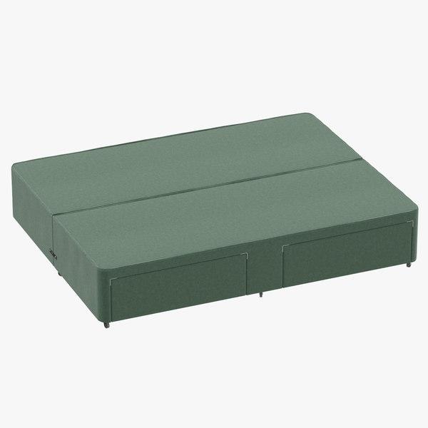 bed base 03 mint model