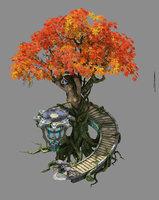 leprechaun forest - tree model