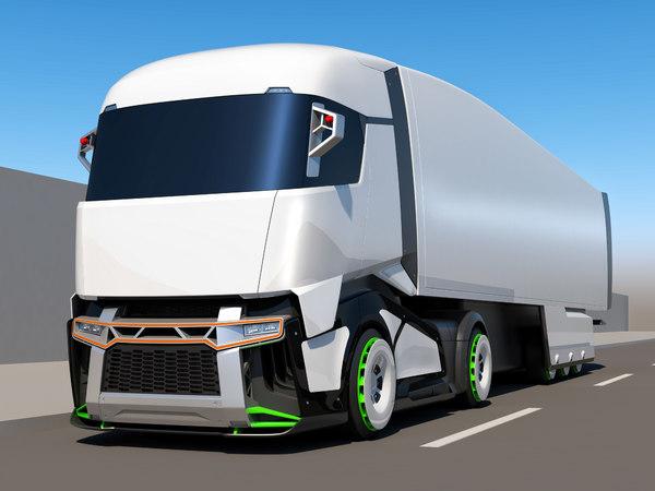 3D generic concept truck