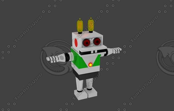 robotic hare 3D model