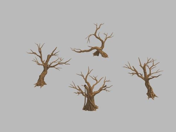 primitive desert - dry 3D