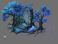 leprechaun forest - tree 3D model