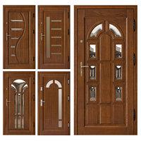 3D door entrance