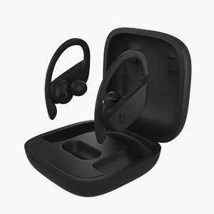 3D powerbeats pro model