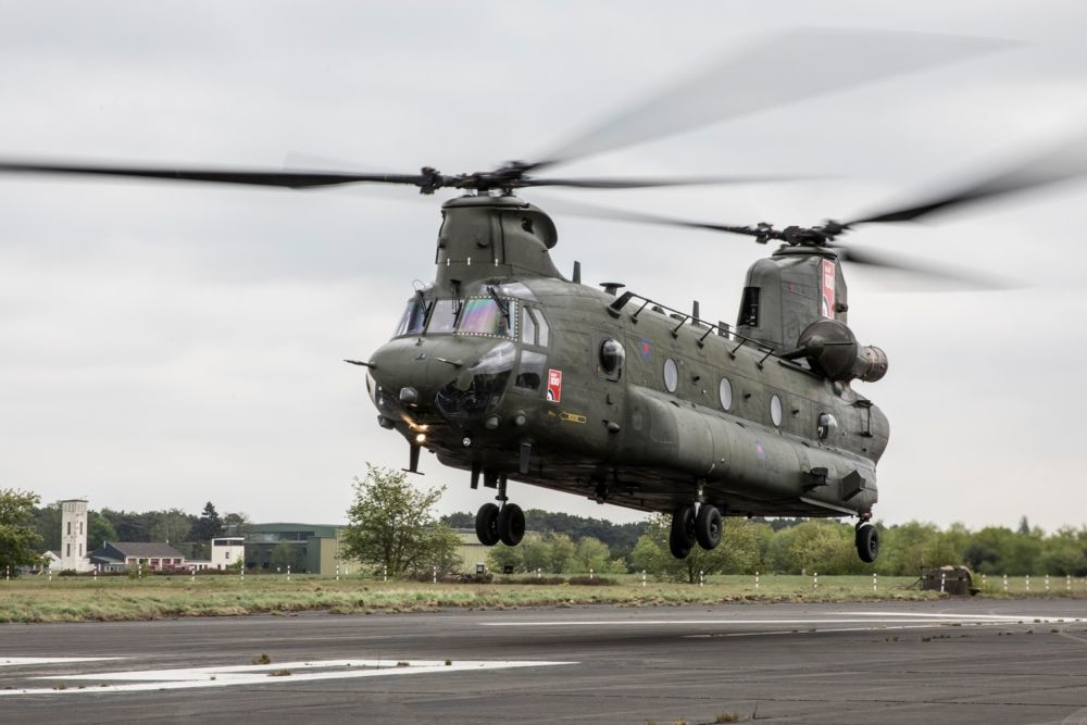 royal air force chinook 3D model