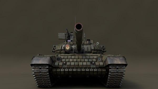 3D model main t-72