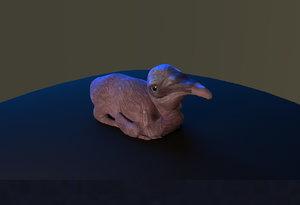 pelican chick model